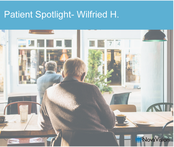 Patient Spotlight- Wilfried H.