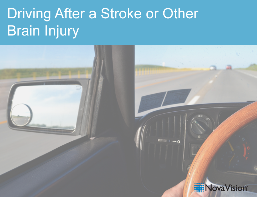 Driving After A Stroke Or Other Brain Injury