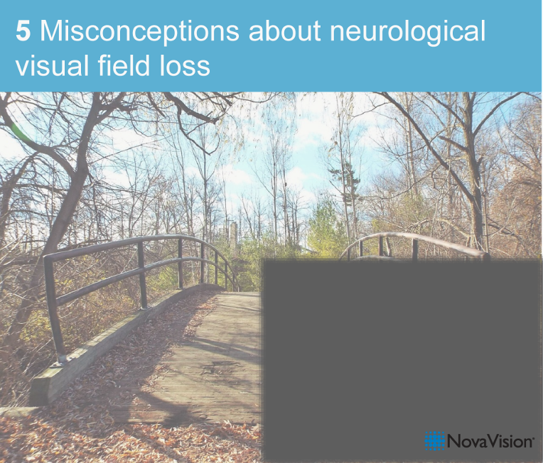 5 Misconceptions About Neurological Visual Field Loss