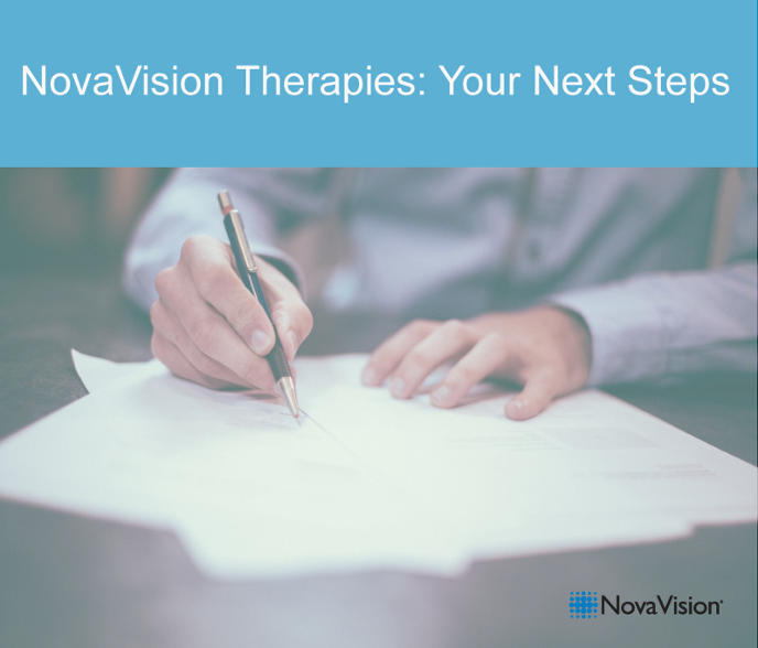 NovaVision Therapies: Your Next Steps