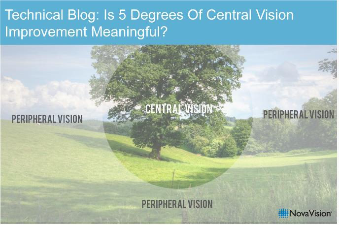 Technical Blog: Is 5 Degrees Of Central Vision Improvement Meaningful?