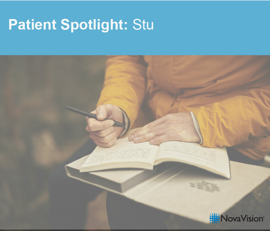 Patient Spotlight: Stu