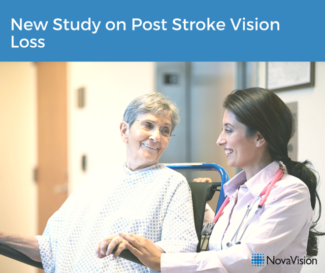 New Study On Post Stroke Vision Loss