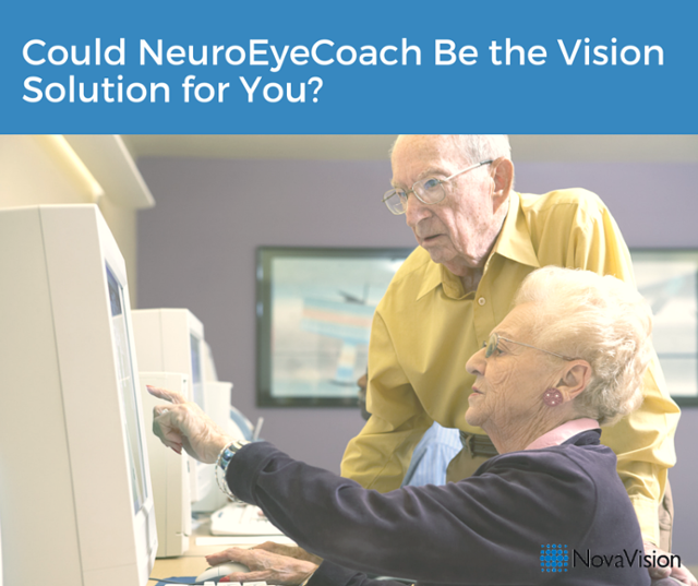 Could NeuroEyeCoach Be The Vision Solution For You?
