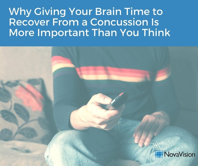 Why Giving Your Brain Time To Recover From A Concussion Is More Important Than You Think